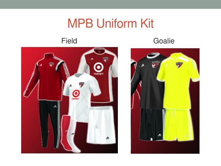 MPB Uniform Kit