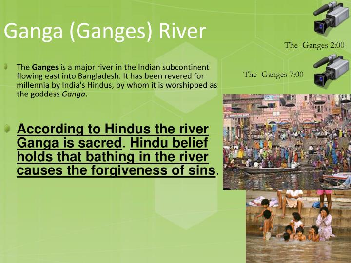 Ganga (Ganges) River