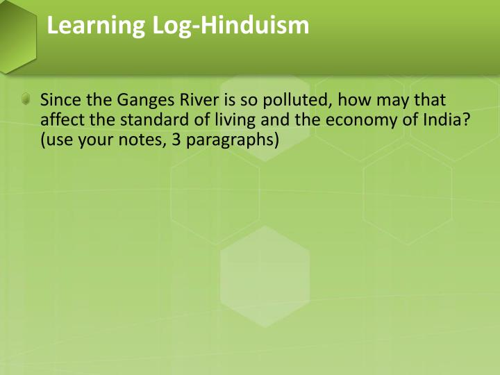 Learning Log-Hinduism