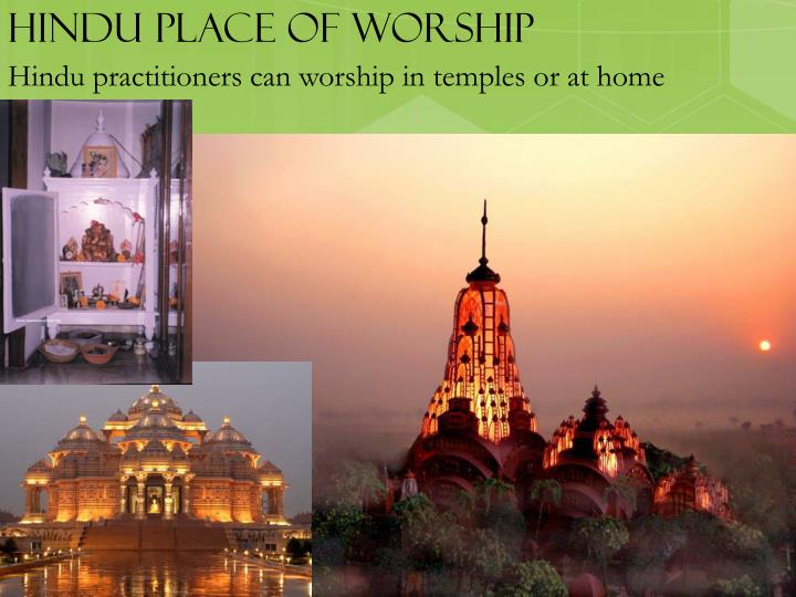 Hindu place of worship
