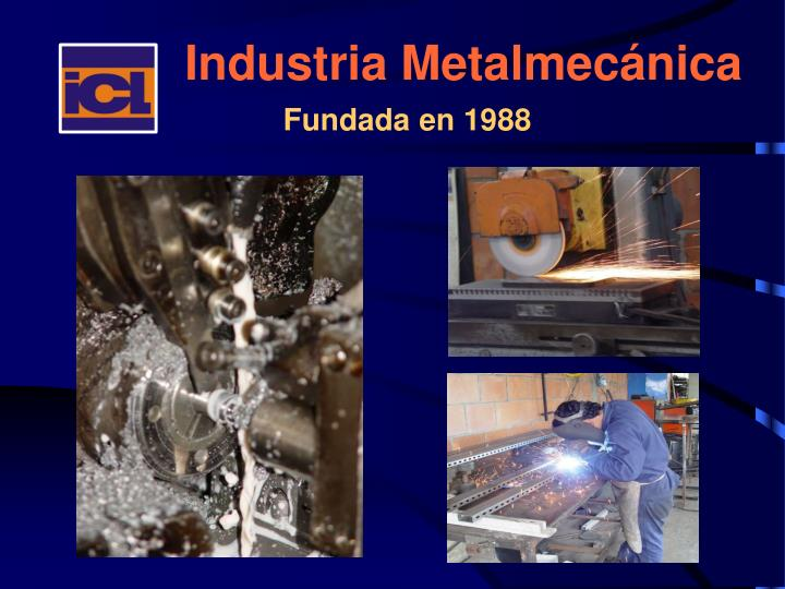 Industria metalmec nica