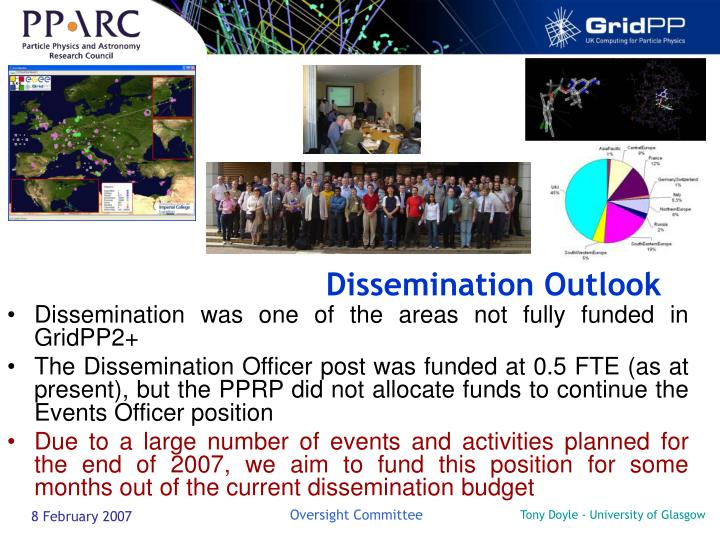 Dissemination Outlook