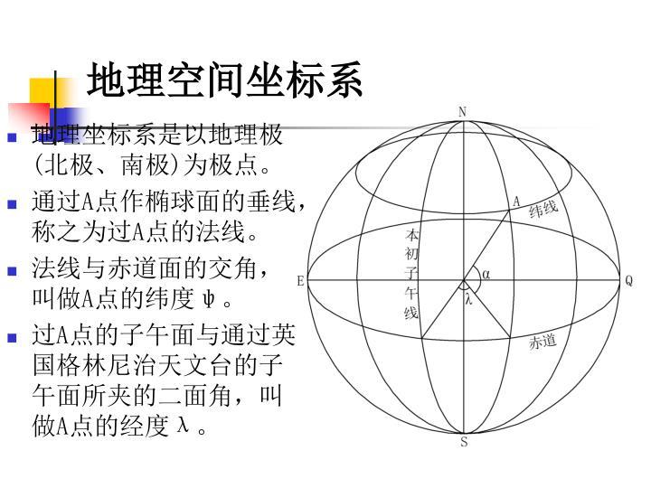 地理空间坐标系