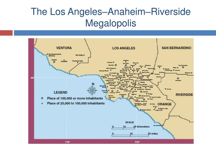 The Los Angeles–Anaheim–Riverside Megalopolis