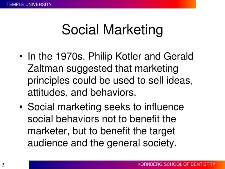 Social Marketing