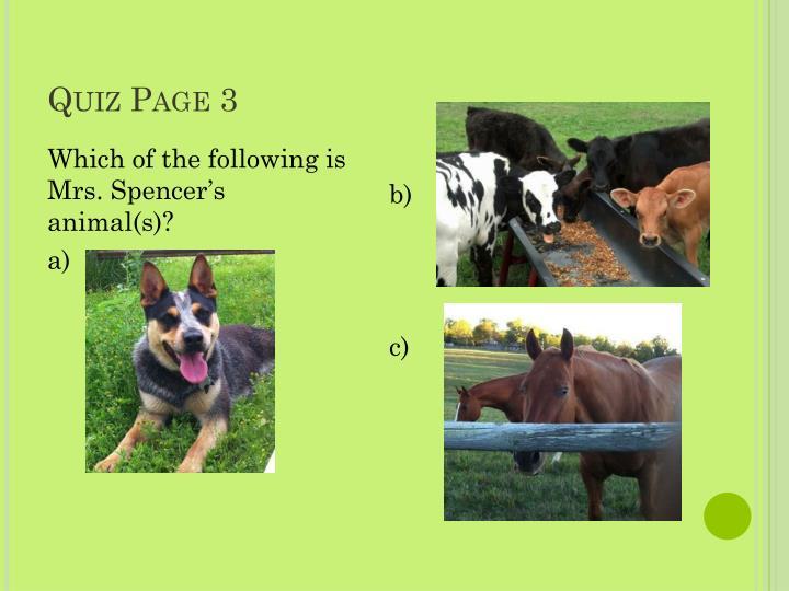 Quiz Page 3