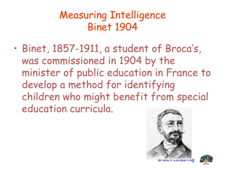 Measuring Intelligence