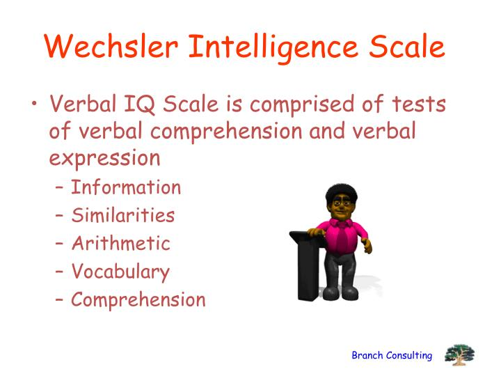 Wechsler Intelligence Scale