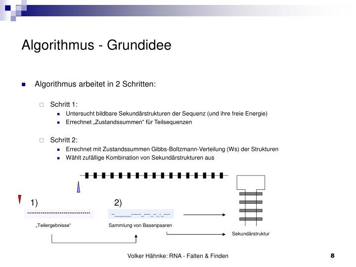Algorithmus - Grundidee