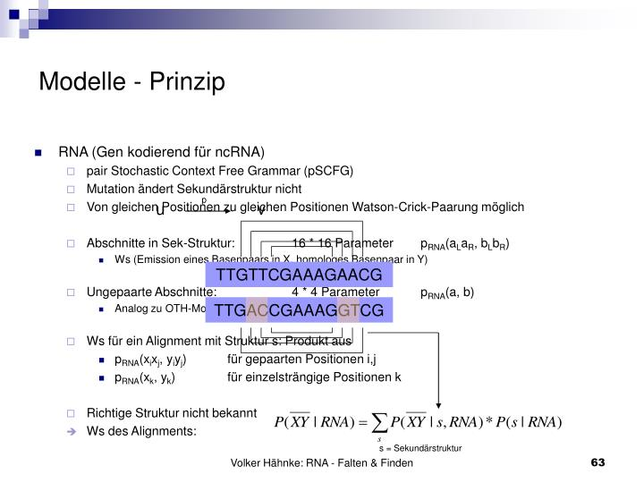 Modelle - Prinzip