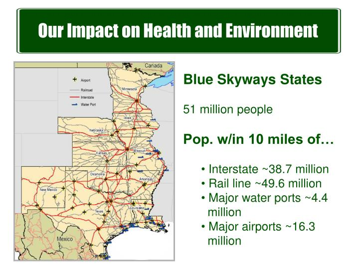 Our Impact on Health and Environment