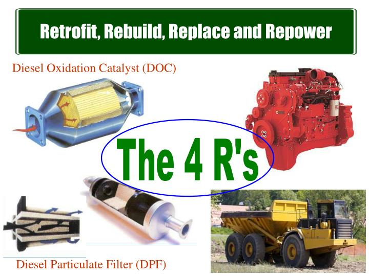 Retrofit, Rebuild, Replace and Repower