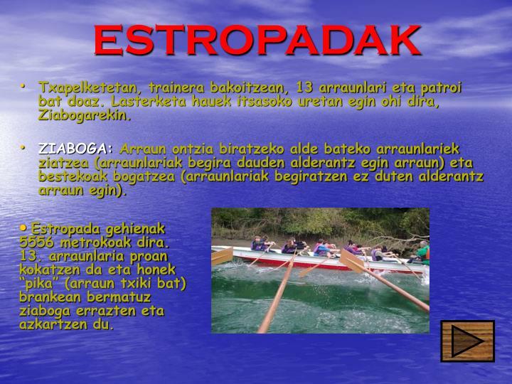 ESTROPADAK