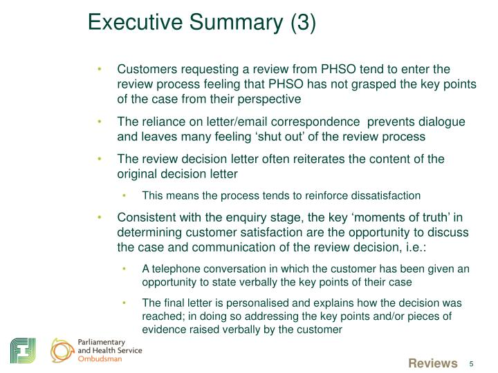 Executive Summary (3)