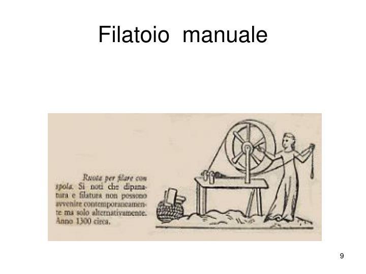 Filatoio  manuale