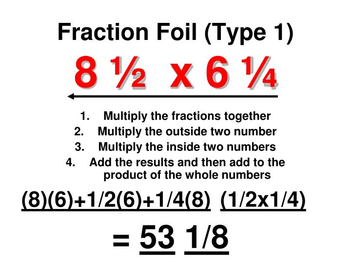 Fraction Foil (Type 1)