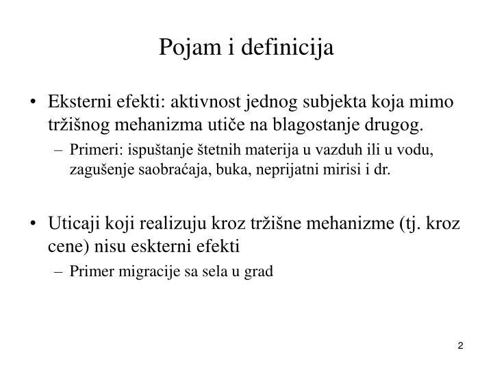 Pojam i definicija