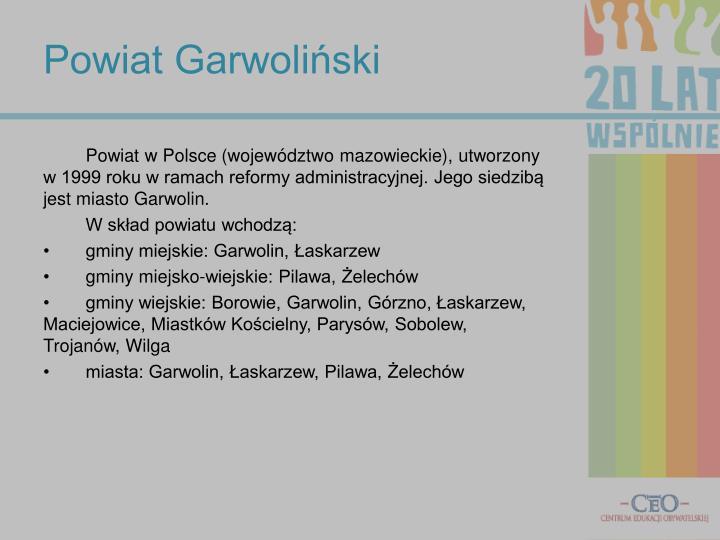Powiat Garwoliński