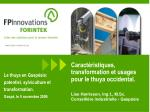 caract ristiques transformation et usages pour le thuya occidental