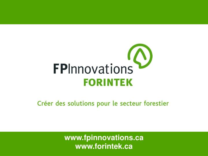 www.fpinnovations.ca
