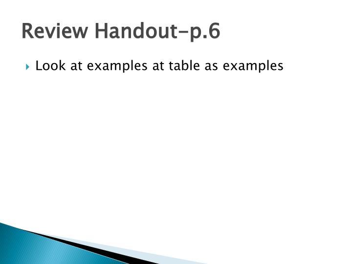 Review Handout-p.6
