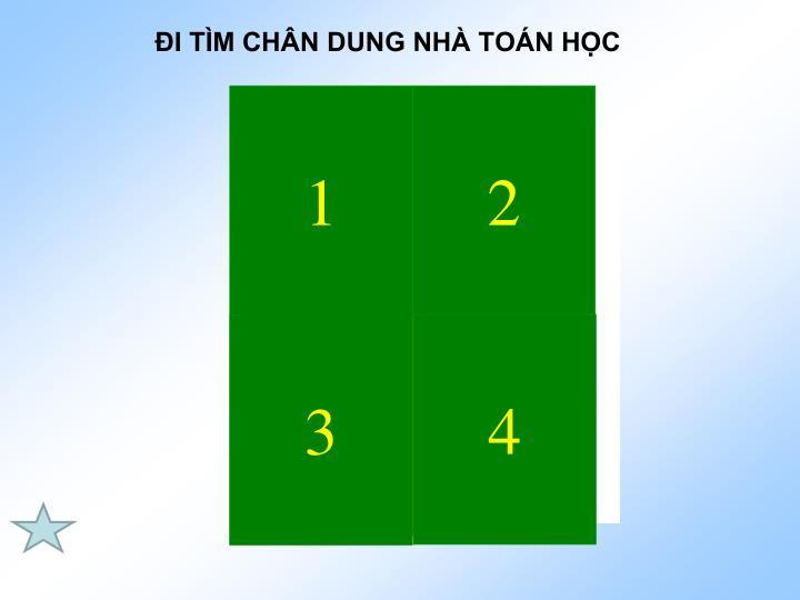 I TM CHN DUNG NH TON HC