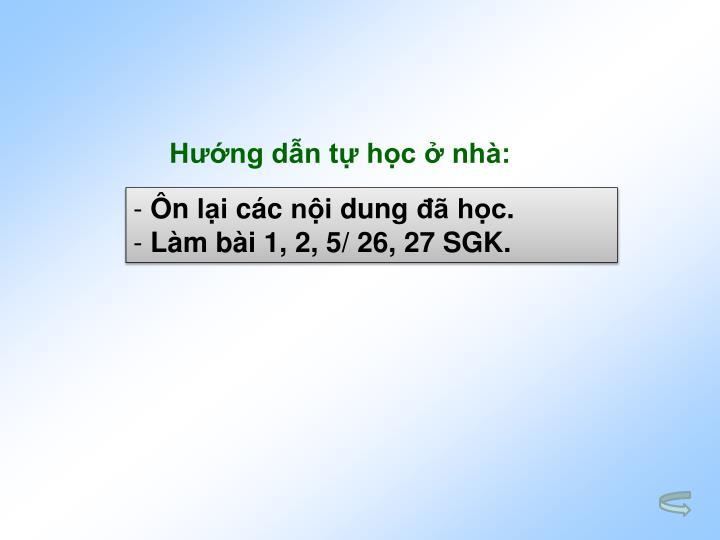 Hng dn t hc  nh: