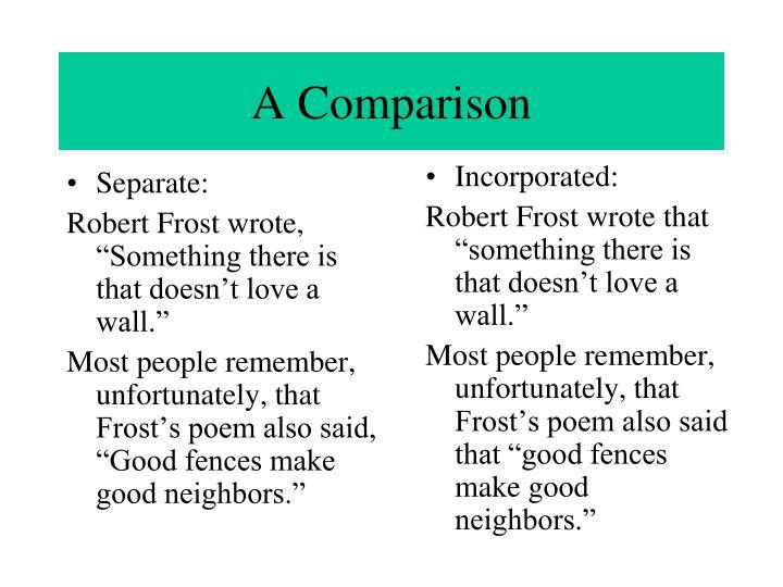 Separate: