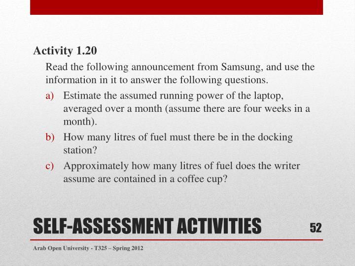 Activity 1.20