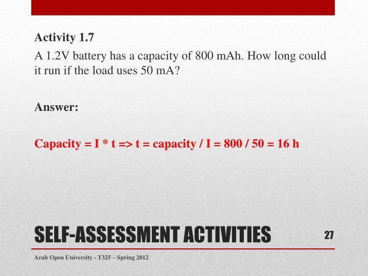 Activity 1.7