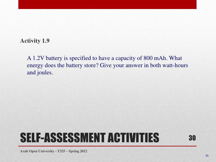 Activity 1.9