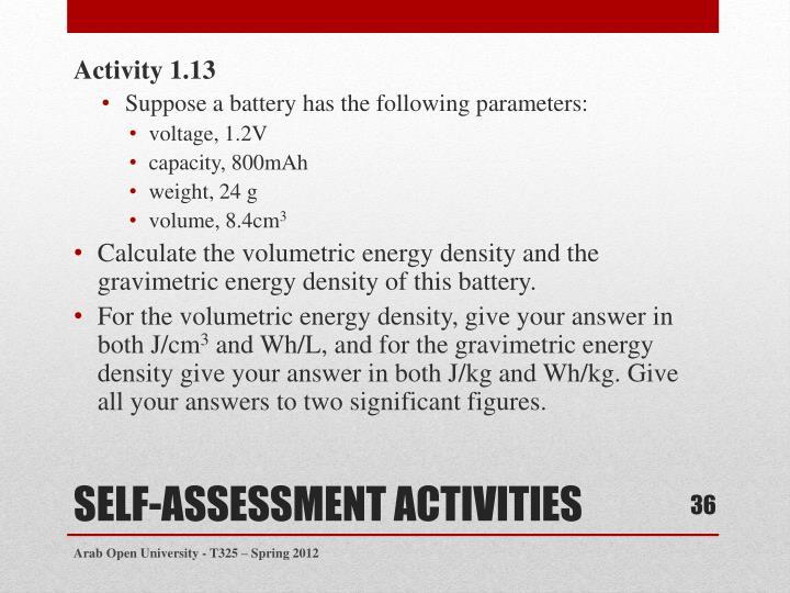 Activity 1.13