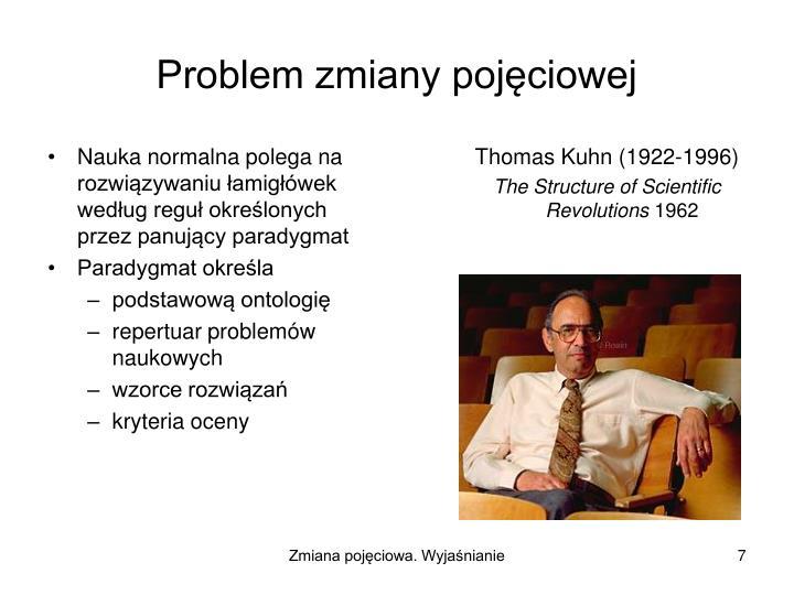 Nauka normalna polega na rozwiązywaniu łamigłówek według reguł określonych przez panujący paradygmat