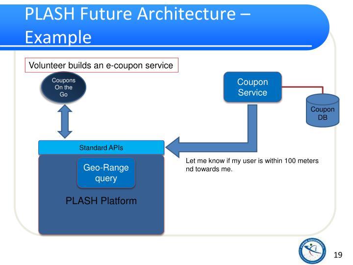 PLASH Future Architecture – Example