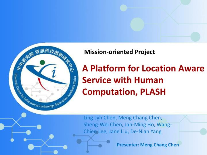Mission-oriented Project