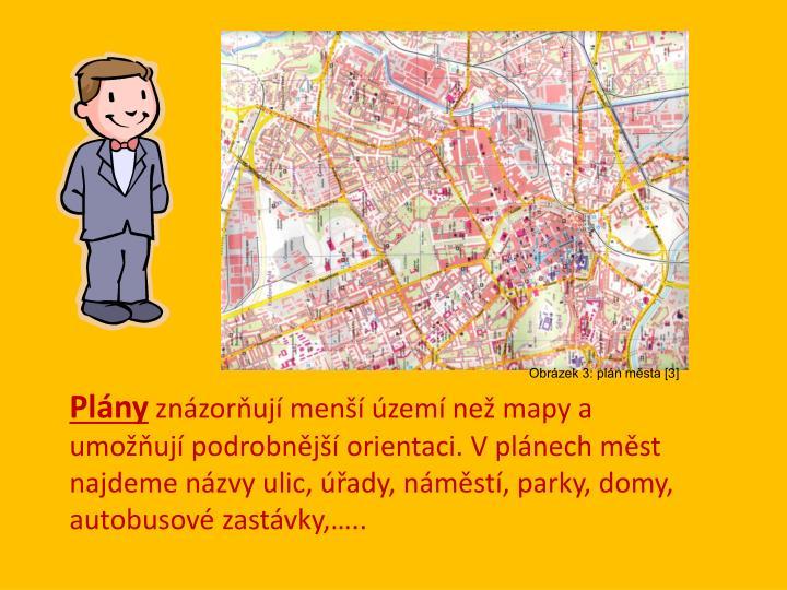 Obrázek 3: plán města