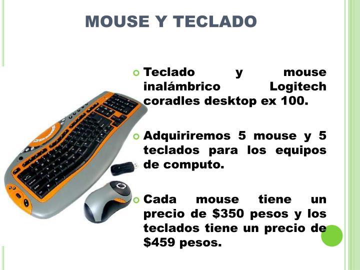 MOUSE Y TECLADO