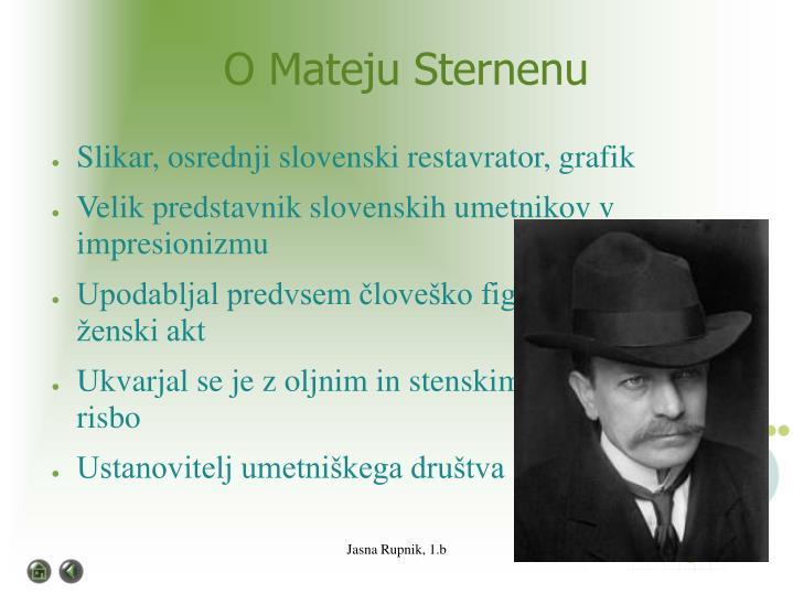 Jasna Rupnik, 1.b