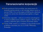 transnacionalne korporacije