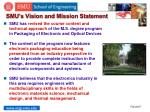 smu s vision and mission statement