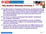 why southern methodist university