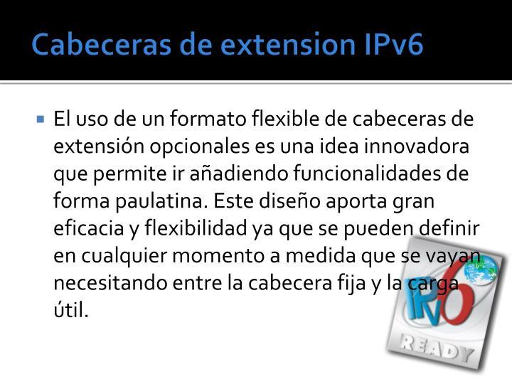Cabeceras de extension IPv6