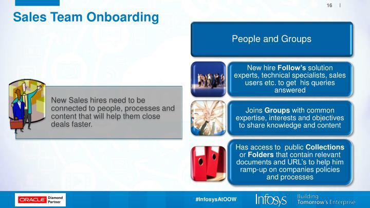 Sales Team Onboarding