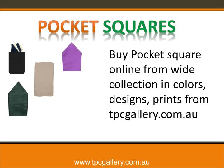 Buy Pocket square online from wide collection in colors, designs, prints from
