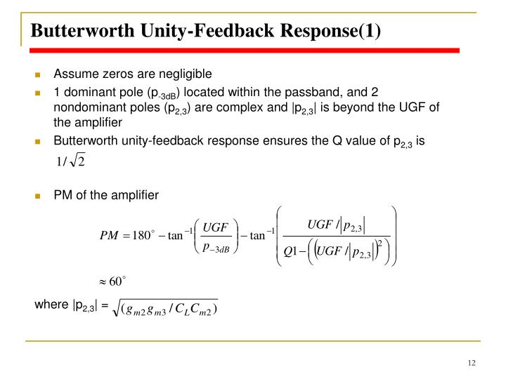Butterworth Unity-Feedback Response(1)