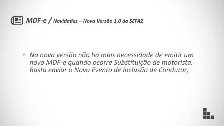 MDF-e /