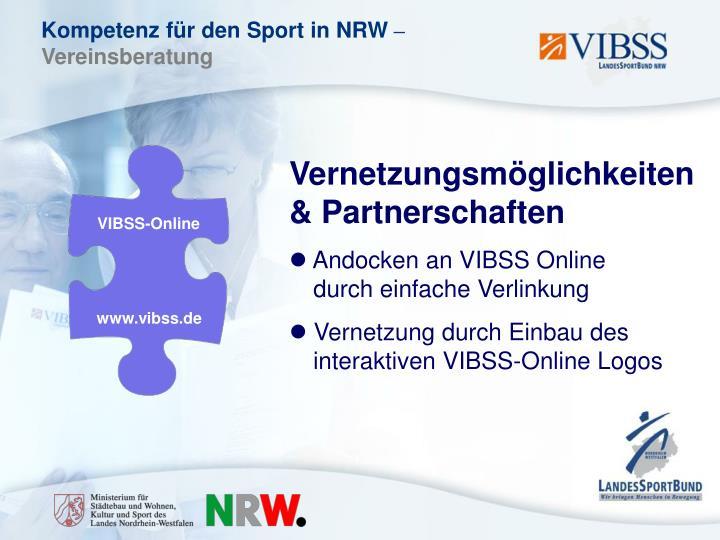 Vernetzungsmöglichkeiten & Partnerschaften
