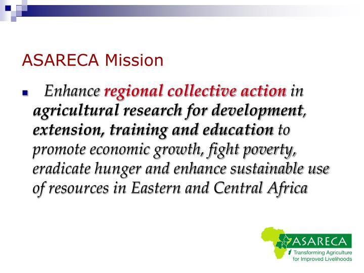 ASARECA Mission