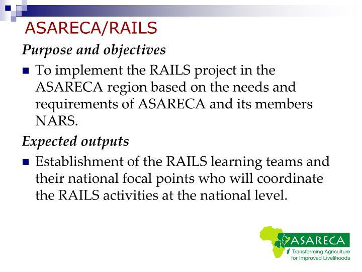 ASARECA/RAILS