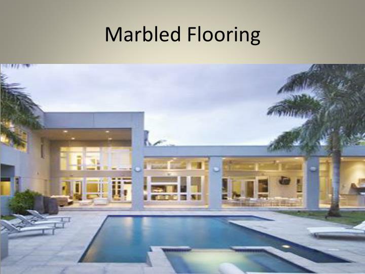 Marbled Flooring